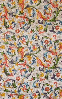 Florentine Paper - 9x12 - Qty:4. $4.25, via Etsy. This is a gorgeous, traditional pattern.