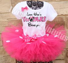 Minnie Mouse Twodles birthday outfit | Minnie Mouse 2nd Birthday Party Ideas | Minnie Mouse Twodles Birthday | Minnie Mouse Birthday Party Ideas | Twistin Twirlin Tutus #minniemousebirthday