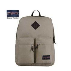JanSport Hoffman Hazelnut Two Front Pocket Backpack - Jansport backpack-Campaign Categories - TopBuy.com.au