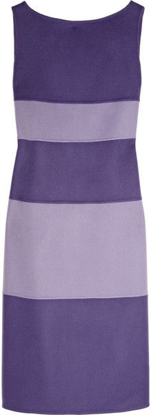 Valentino Wool and Cashmere-blend Dress