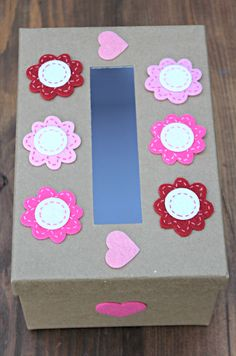 Our DIY decorated Valentine's Day box is as easy as it gets and perfect for kids to take to their classroom!