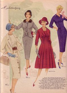 mode und schnitt 1959