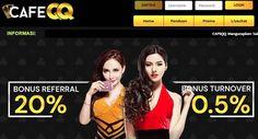 CafeQQ Situs Bandar Q Online dan Sakong Terpercaya Dan, Website