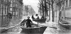 """Inondations à Paris en 1910 : """"une calamité nationale"""""""