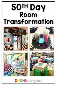 50th day of school ideas for decorating a kindergarten classroom