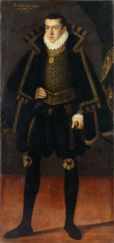 Portrait de Friedrich von Zweibrücken-Veldenz-Parkstein, 1575 artiste inconnu