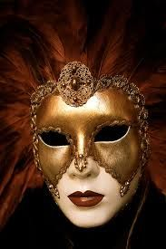 mascaras venecianas con plumas de mujer - Buscar con Google