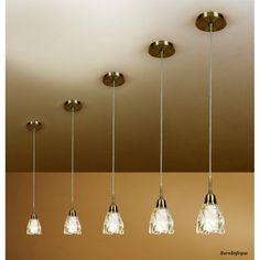 Lámpara de Techo Colgante 1 luz Colección AMEL Cuero Bajo Consumo. 39,93€.
