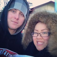 This looks freezing! Glad you made it out to see us! #BeaverTails