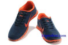 Goedkoop Schoenen Nike Free 4.0 V3 Heren ( kleur:tong,binnen&logo-oranje,vamp-zwart ) Online Winkel.