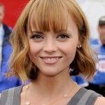 Christina Ricci medium hairstyle haircut hairdo hair 2