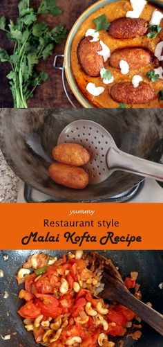 Malai Kofta Recipe – Malai Kofta is one of THE most popular Vegetarian Indian Curry. Fried potato and cottage cheese balls served in a rich creamy tomato onion gravy. My mouth is watering jus… Malai Kofta Recipe - Malai Kofta Recipe Kofta Recipe Vegetarian, Vegetarian Curry, Veg Kofta Recipe, Indian Food Vegetarian, Vegetarian Cooking, Cooking Rice, Cooking Pork, Paneer Recipes, Curry Recipes