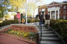 Anderson University, Anderson, SC. For more information, visit http://www.mycollegeoptions.cn/Colleges/Anderson-University-(1).aspx?searchpage=1.