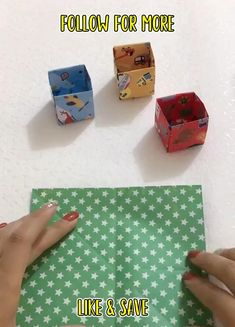 Diy Crafts Hacks, Diy Crafts For Gifts, Diy Home Crafts, Sewing Crafts, Cool Paper Crafts, Paper Crafts Origami, Diy Paper, Ideias Diy, Craft Videos