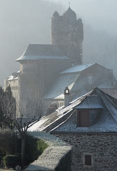 Estaing, Aveyron, Midi-Pyrenees, France