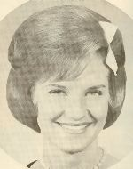 1960s - yes I have a yearbook picture with a bow in my hair, just like this!!