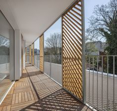 Building Layout, Building Facade, Pere Lachaise Cemetery, Paris Climate, Timber Panelling, Urban Fabric, Concrete Structure, Outdoor Spaces, Outdoor Decor
