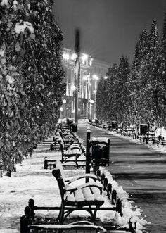 Zimowy Poznań [fot.Robert Woźniak]