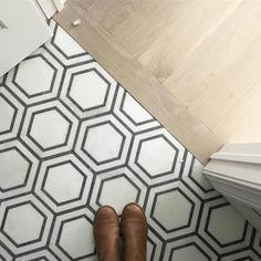 hex tile. kate marker interiors