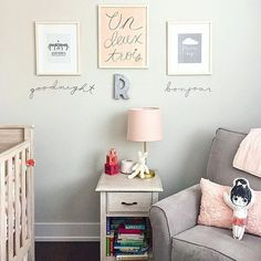 Bonjour to this super-sweet nursery from @ann_ueno.