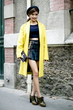 How to Wear Yellow Like a Street Style Star   StyleCaster