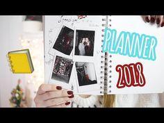 Aký planner som si vytvorila na rok 2018 Diy And Crafts, Polaroid Film, Youtube, Youtubers, Youtube Movies