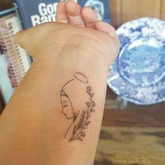 Dream Tattoos, Baby Tattoos, Mini Tattoos, Couple Tattoos, Body Art Tattoos, Small Tattoos, Tatoos, Roseary Tattoo, Soft Tattoo