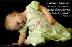 The innocence of childhood is a true treasure