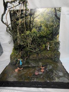 Nude swim 1/35 Scale Diorama