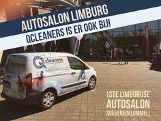 Qcleaners ook present samen met Ford Peerlings op eerste Limburgs autosalon Soeverein arena Lommel!