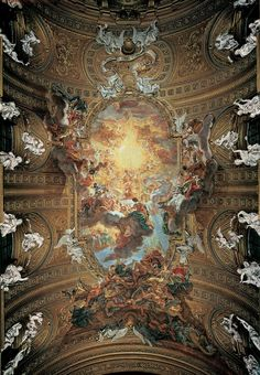 Giovanni Battista Gaulli, Triumph of the Name of Jesus, 1672-1685  https://classconnection.s3.amazonaws.com/399/flashcards/510399/jpg/22-171311033258715.jpg