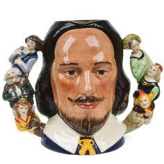 Ugly Shakespeare mug.