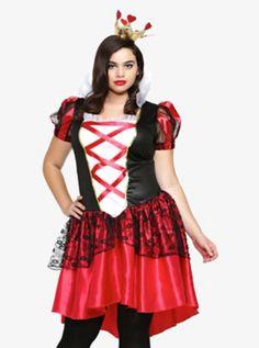 adult dlx alice in wonderland movie red queen costume ($56