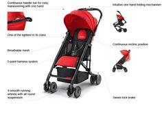 RECARO Easylife, 6 months - 4.5 years, compact, light, easy to handle, http://int.recaro-cs.com/strollers/easylife.html