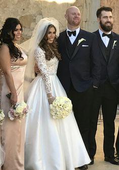 Wedding Brittanee & David  Reem Acra Gown #itsrobertstime