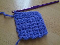How to Crochet Mitered Squares