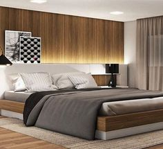 If you have ever thought about redecorating your bedroom and tried to find some options online to create a master bedroom, take a look at the board and let you inspiring! See more clicking on the image. Bedroom Furniture, Furniture Design, Bedroom Decor, Contemporary Interior Design, Home Interior Design, Modern Bedroom, Master Bedroom, Small House Layout, Hotel Room Design