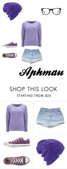 """""""Aphmau: YouTuber"""" by musicinfinity ❤ liked on Polyvore featuring ONLY, Converse, Coal, Muse, women's clothing, women's fashion, women, female, woman and misses"""