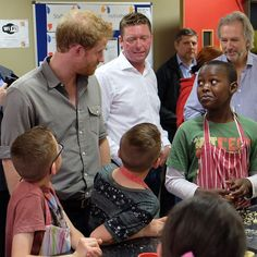 Prince Harry's third Wigan visit of the day is to Wigan Youth Zone. It provides a safe, affordable and engaging venue for over 5,000 young people. It costs the children just 50p to get in - for which they get access to all the impressive facilities. It offers over 20 activities each day - from football & climbing to music production & employment mentoring. Cooking, hairdressing, starting a business - just about any skill can be learnt at the amazing youth centre. #youth #wigan #princeharry