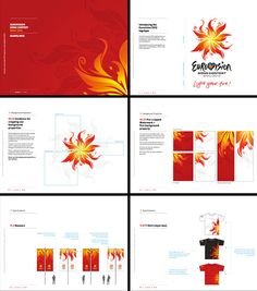 Eurovision Logo, Eurovision 2012, Junior Eurovision, Logo Guidelines, Music Composers, Graphic Design Branding, Tv On The Radio, Visual Identity, Style Guides
