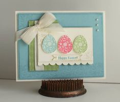 Easter Card by sweetpeas - Cards and Paper Crafts at Splitcoaststampers