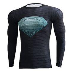 Jackcsale Men's Compression Shirt SuperHero Baselayer Fitness Workout Shirt Jackcsale http://www.amazon.com/dp/B01DDDLKYK/ref=cm_sw_r_pi_dp_iEDdxb1QDJFSF