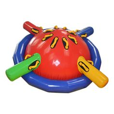 Inflatable water game, fun inflatable Saturn gyro for kids, more interesting water spinning top at Sunjoy.