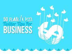 Love Danny Brown's Sunday Share! | 50 random Twitter tips for business by Ksenia Dobreva via slideshare Social Media Services, Social Media Tips, Social Media Marketing, Internet Marketing, Business Stories, Business Advice, Twitter For Business, Le Social, About Twitter
