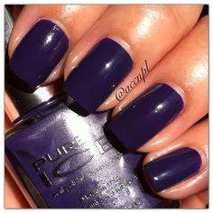 Two coats and no top coat of LAST CHANCE by Pure Ice. #nails #nailpolish #swatches #PureIce .     Instagram: accnpl