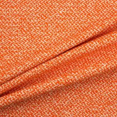 Designer Orange/Ivory Coloured Bouclé (£62.90/metre) | Joel