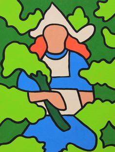 Dutch artist Tymen Visser paints life in Tokyo.