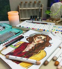 @jacquelindeleon Instagram fényképének megnézése • 28 8 ezer kedvelés Marker art Sketch