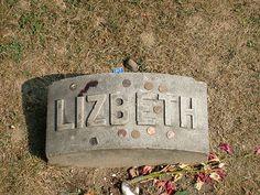 Lizzy Borden-- Oak Grove Cemetery, Fall River, Massachusetts, USA