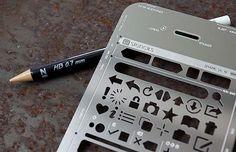 UI Stencils to put your million-dollar app idea on paper!